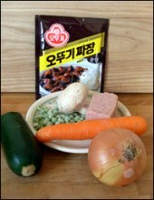 Jajang Myeon Ingredients