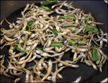 Bokkeum Myulchi Cooking