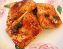 Spicy Tofu Jorim