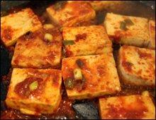 Tofu Jorim Cooked