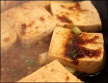Tofu Jorim Close up