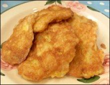Pan Fried Cod served