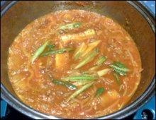 Fish Jeongol Cooking