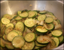 Courgettes Cooked