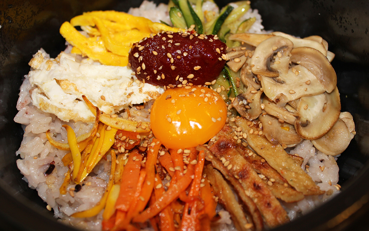 Bibimbap Korean Recipe