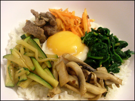 Bibimbap Korean Recipe
