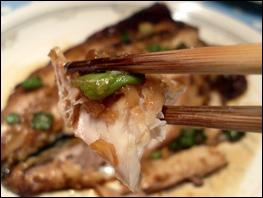 Grilled Mackerel Close Up