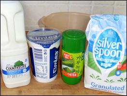 Green Tea Ice Cream Ingredients