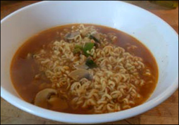 Korean Noodles Korean Food Picture