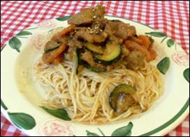 Jeyuk Bokkeum Noodles