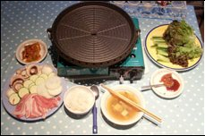 Korean barbecue at home picture
